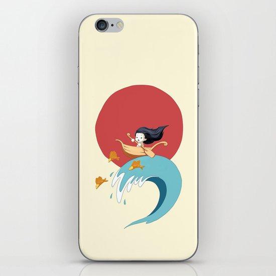 The Wave iPhone & iPod Skin