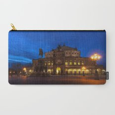 Germany-Dresden Semper Opera blue hour Carry-All Pouch