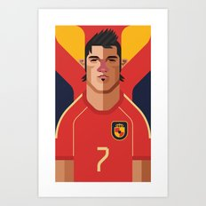 DV7 | La Roja Art Print