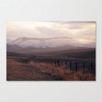 Rocky Mountain Sunset Canvas Print