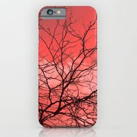 iPhone & iPod Case featuring Branches in the Red Sky by Ginger Mandy