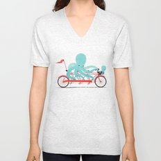 My Red Bike Unisex V-Neck