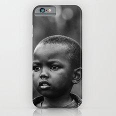 Child in Rwanda iPhone 6 Slim Case