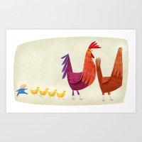 Nerw Morning Parade Art Print