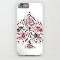 83 Drops - Spades (Red &… iPhone 6 Slim Case