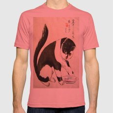 delicious food Mens Fitted Tee Pomegranate SMALL