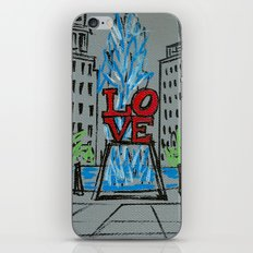 Little Love Park Sketch iPhone & iPod Skin