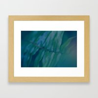 Midnight Green Framed Art Print
