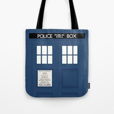 Doctor Who - Minimal Tardis Tote Bag