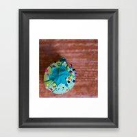 Pinned Framed Art Print