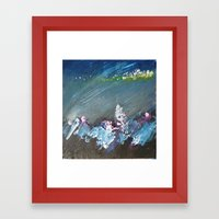 Splash into the Undergrowth Framed Art Print