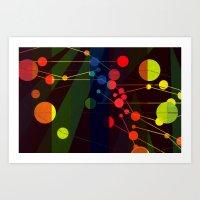 Planetary System I Art Print