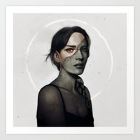 The Girl You Couldn't Love IV Art Print