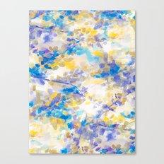 Canopy Blue Canvas Print