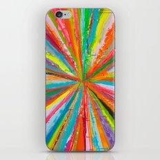 Exploding Rainbow iPhone & iPod Skin
