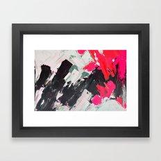 Hot Pink Franz Framed Art Print