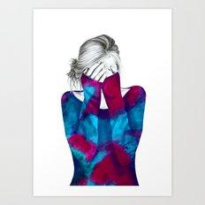 Cosmic Girl 2 Art Print