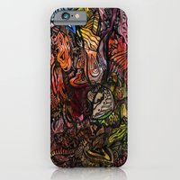 iPhone & iPod Case featuring Watercolor Illusion  by Renata Kats