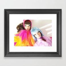Technicolour Framed Art Print