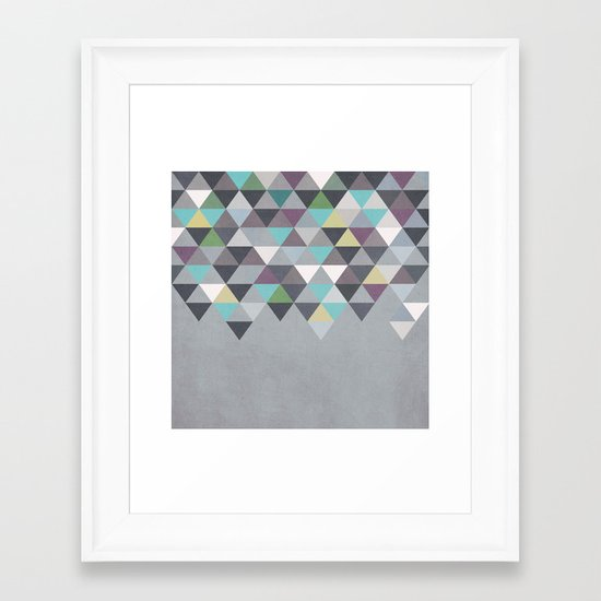 Nordic Combination 7 Framed Art Print