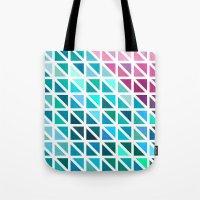 Triangles #7 Tote Bag