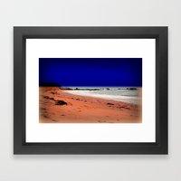 Red Sands - Tasmania Framed Art Print