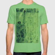 WALL STRUCTURE 2 - CROSS/PROCESS Mens Fitted Tee Grass SMALL