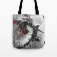Tote Bag featuring Thor by Wisesnail