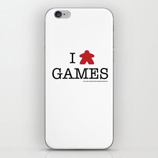 I Meeple Games iPhone & iPod Skin