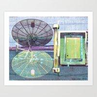 Polar Transmission Art Print