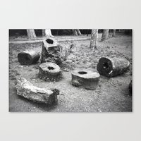 Logs Canvas Print