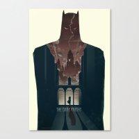 The Dark Knight Canvas Print