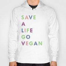 Go vegan Hoody
