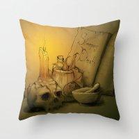 Potion Throw Pillow
