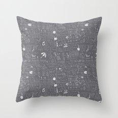 Maths Throw Pillow