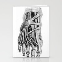 Foot Stationery Cards