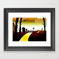 The Wizards of Oz Framed Art Print