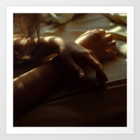 Hands in Light and Shadow Art Print