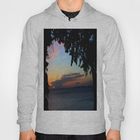 SUNSET BETWEEN TREES. Hoody