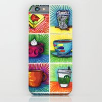 The Daily Coffee Poster iPhone 6 Slim Case
