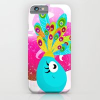 iPhone & iPod Case featuring Fortune Feather Teller by MindyLouHagan