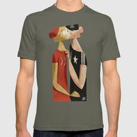 The puzzle Mens Fitted Tee Lieutenant SMALL