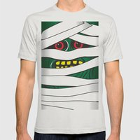 Mummy Mens Fitted Tee Silver SMALL