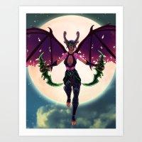 Demon Hunter Art Print
