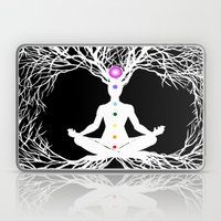 Tree of Life White Laptop & iPad Skin