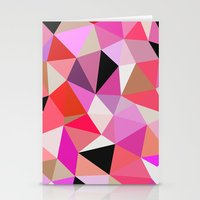 Lipstick Tris Stationery Cards