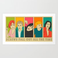 Screws Fall Out All The … Art Print