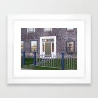 Doorway to Yesteryear Framed Art Print