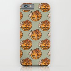 trick or treat? - pattern Slim Case iPhone 6s