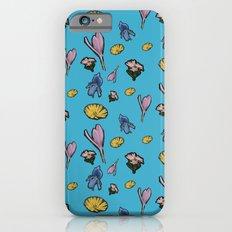 cutout flowers Slim Case iPhone 6s